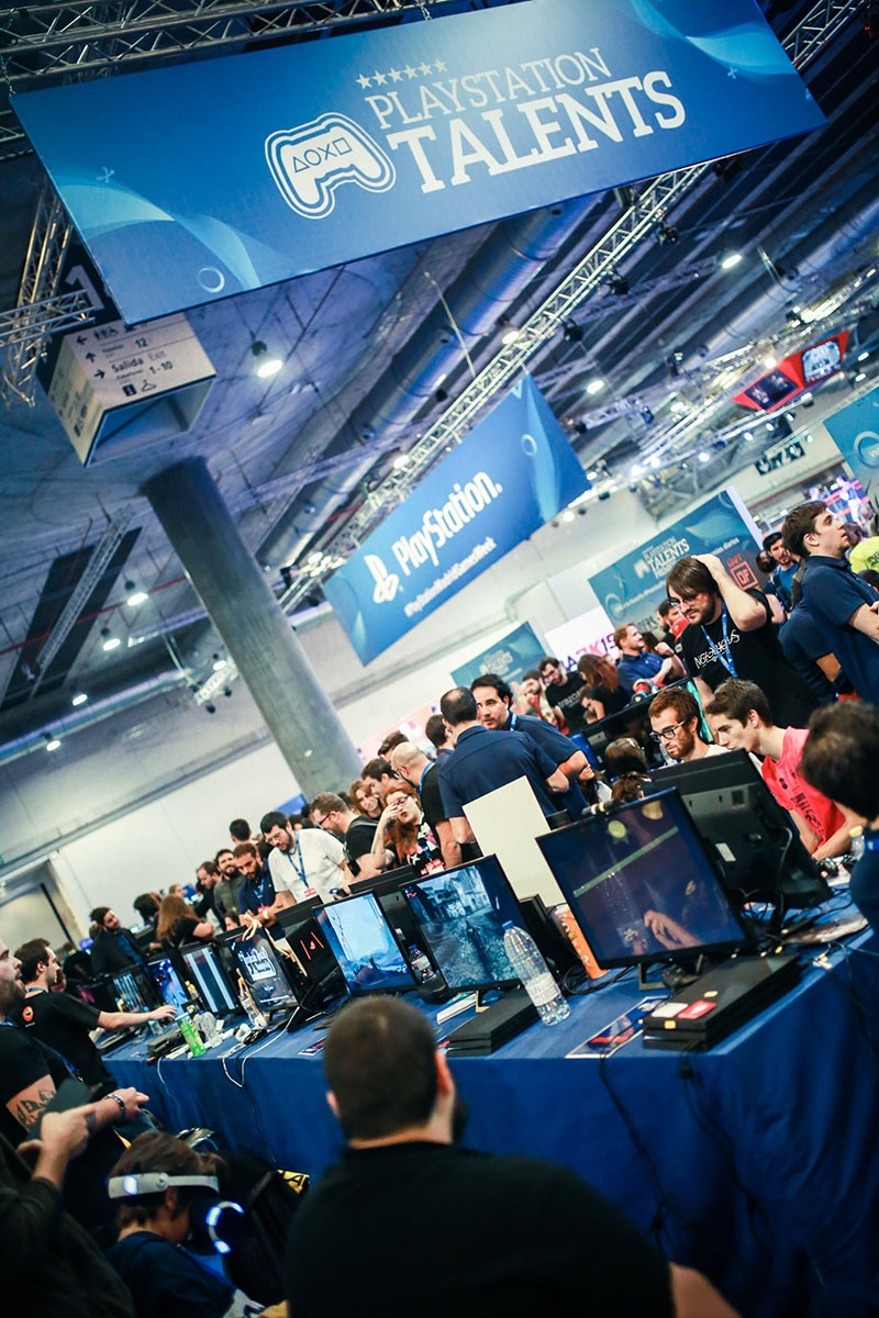 event-photography-madrid-games-week-playstation